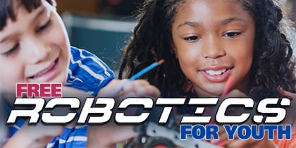 Free Robotics for Youth Program - Oct. 20