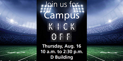 Kick off your first day on Triton's campus right!