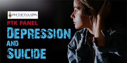 PTK Presents 'Depression and Suicide' Panel Discussion – Oct. 25.