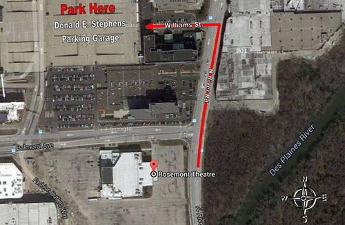 Ceremony Parking Map
