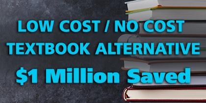 Students Save $1 million through Triton's Low Cost/No Cost Textbook initiative