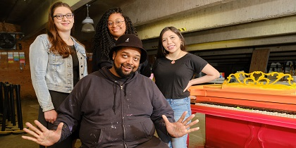 Pop-Up Piano project strikes chord of creativity for Triton art students