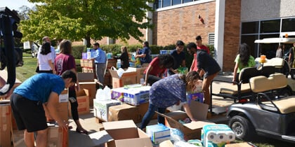 Triton College Completes Successful Hurricane Relief Supply Drive