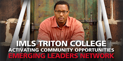 Triton's Emerging Leaders Network Welcomes Omar Yamini to Oak Park Library – Sept. 19.