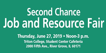 "Triton College Hosts ""Second Chance Job and Resource Fair"" June 27"