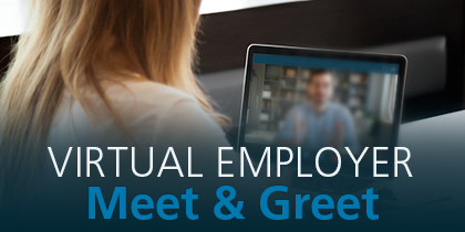Manufacturing Employer Virtual Meet and Greet